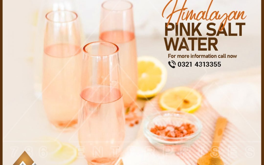 Himalayan pink sole water­- A miraculous drink: