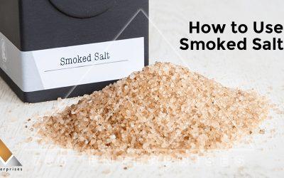 What is Smoked Salt – Recipe of Smoked Salt?