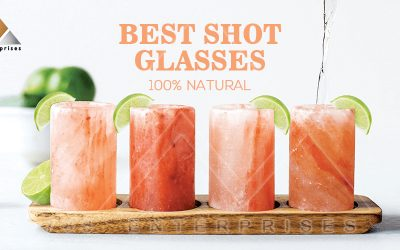 Himalayan salt shot glasses – cleaning and care