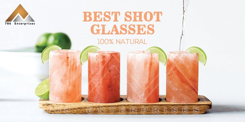 Himalayan salt shot glasses – Its cleaning and care