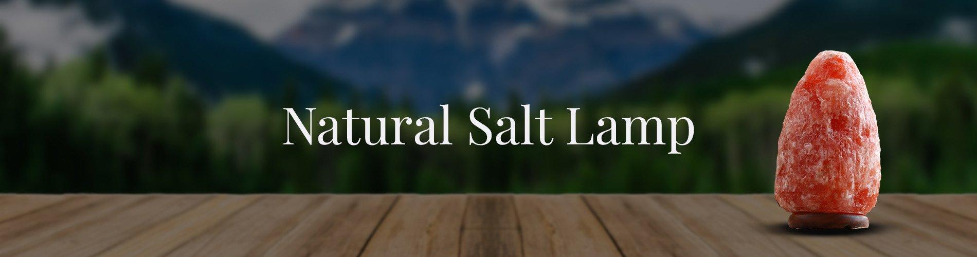 Natural salt Lamp Background Image